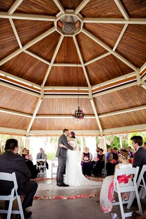 Demetrios Off-the-Shoulder Wedding Dress