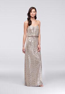 David's Bridal Collection David's Bridal Style F19828 Scoop Bridesmaid Dress