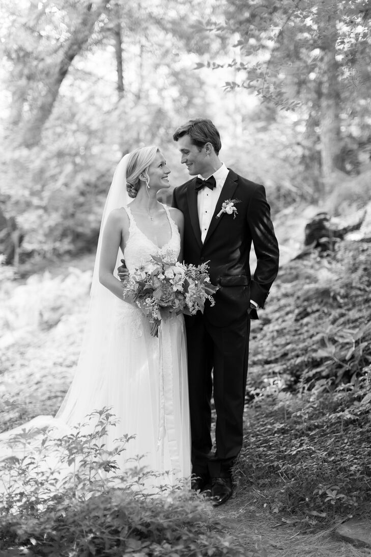 Natalia and Dan wanted their wedding to be a reflection of who they were and what they care about--and two of the biggest things they love are local f