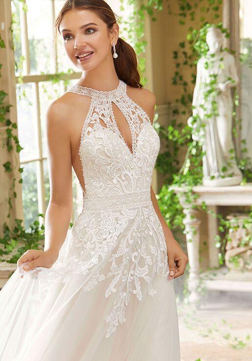 Morilee by Madeline Gardner/Blu Poppy A-Line Wedding Dress