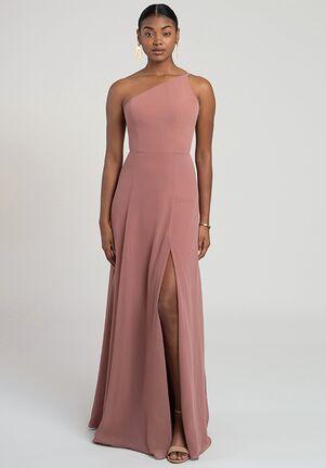Jenny Yoo Collection (Maids) Kora One Shoulder Bridesmaid Dress