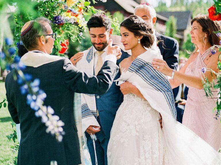 wedding officiant Jewish ceremony