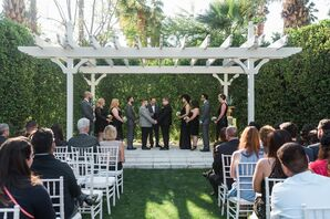 Outdoor Ceremony at Riviera Palm Springs in California