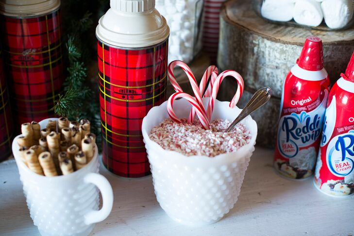 DIY Cocktail Hour Hot Chocolate Bar