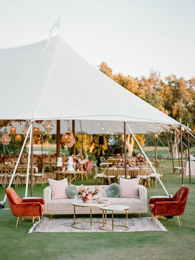 Fall wedding ideas furniture