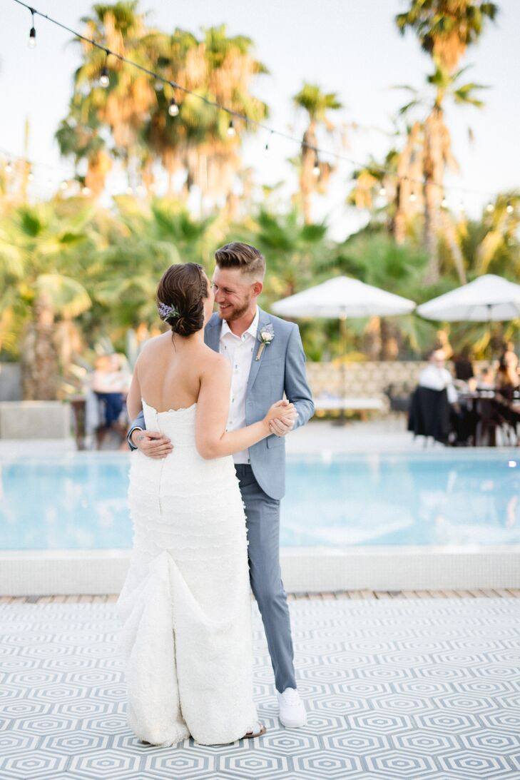 Poolside First Dance