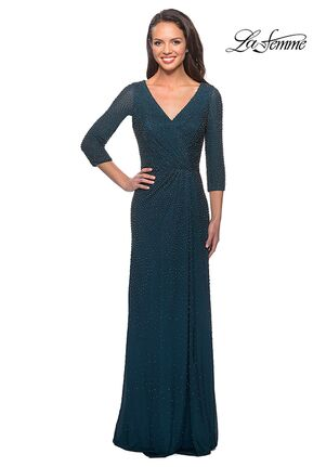 La Femme Evening 25030 Green Mother Of The Bride Dress