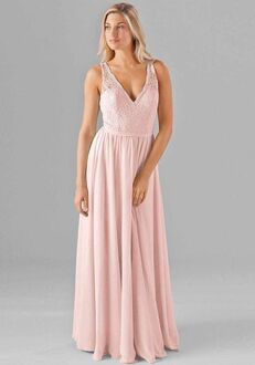 Kennedy Blue Sadie V-Neck Bridesmaid Dress