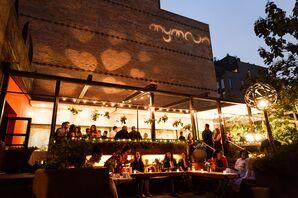 Modern Restaurant Reception at MyMoon in Brooklyn