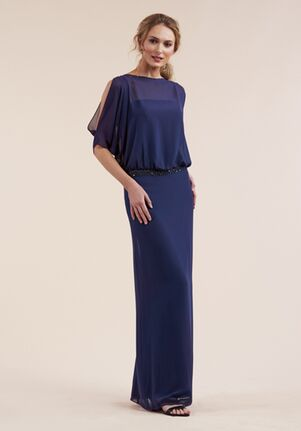 Jasmine Black Label Mother of the Bride M210053 Blue Mother Of The Bride Dress