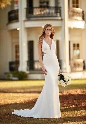 Martina Liana 1313 Sheath Wedding Dress
