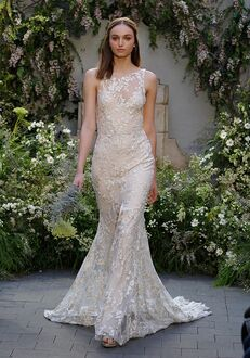 Monique Lhuillier Indigo Sheath Wedding Dress