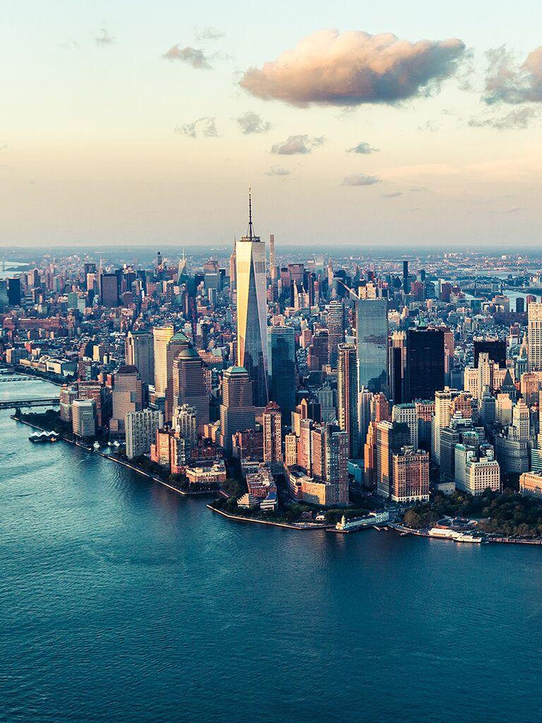 New York City destination wedding ideas