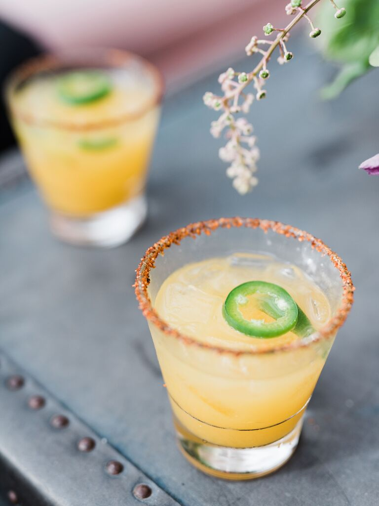 wedding drink ideas margarita