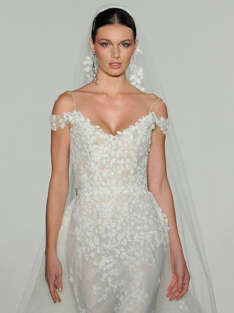 cd3acfec9fd Lazaro Fall 2019 Collection  Bridal Fashion Week Photos
