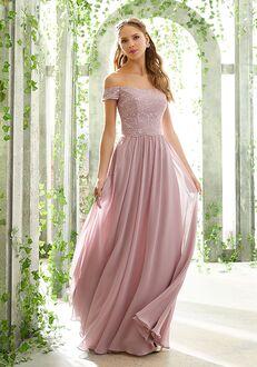 Morilee by Madeline Gardner Bridesmaids 21602 Off the Shoulder Bridesmaid Dress
