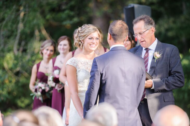 Outdoor Ceremony at The Mill at Millway