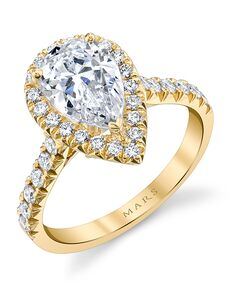 MARS Fine Jewelry Classic Pear Cut Engagement Ring