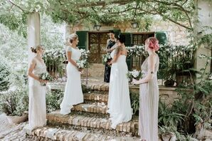 Whimsical Garden Wedding with Greenery