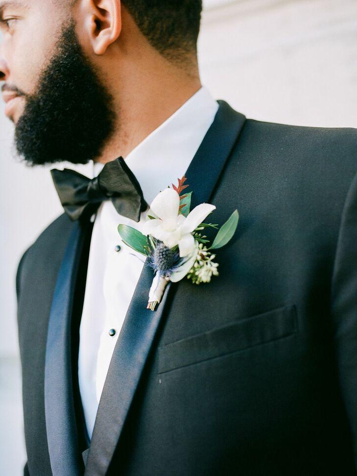 Bouquet for Wedding at the Gaillard Center in Charleston, South Carolina
