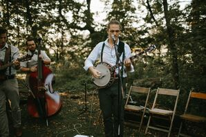 Live Folk Band at Outdoor Ceremony