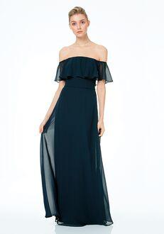 Bill Levkoff 1500 Off the Shoulder Bridesmaid Dress