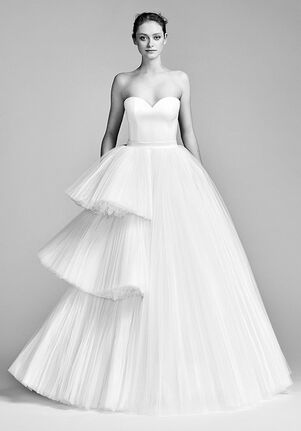 092bffd9e7a64a Viktor Rolf Mariage. Asymmetric Tiered Tulle Gown