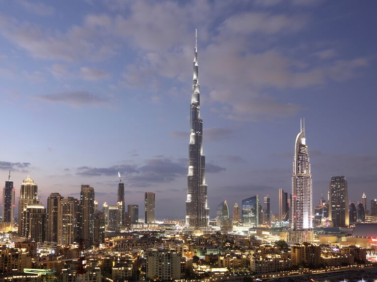 Dubai United Arab Emirates honeymoon destination