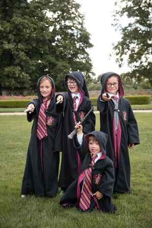 Harry Potter-Inspired Outfits for Kids at New York Wedding