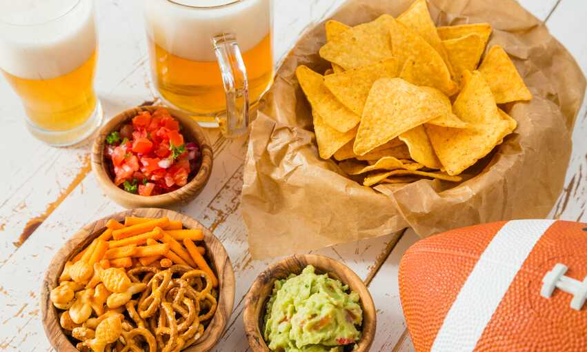Tailgating party themed inspiration and ideas