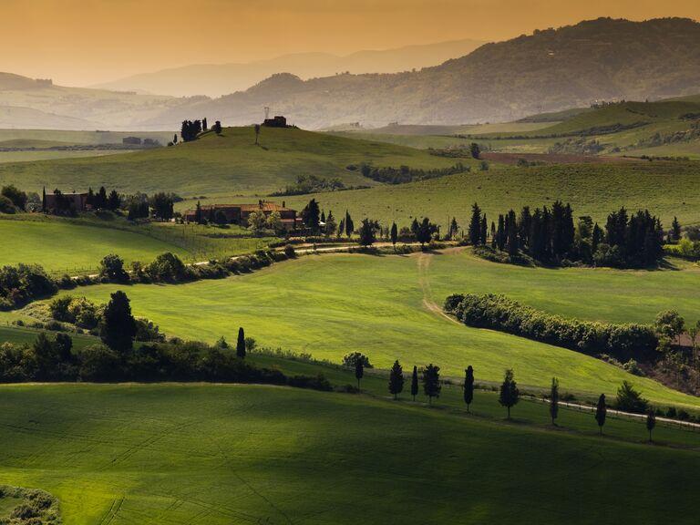 Europe wedding destination: Tuscany, Italy