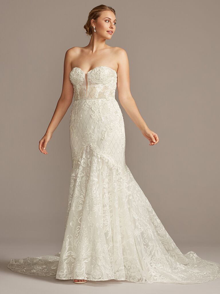 Galina Signature mermaid wedding dress