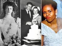 First lady wedding dresses: Eleanor Roosevelt, Nancy Reagan, Michelle Obama