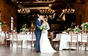 First Dance at High Line Car House in Columbus, Ohio