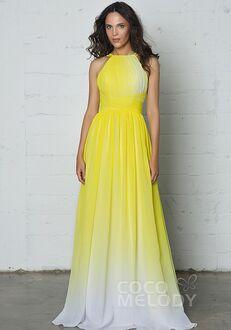 CocoMelody Bridesmaid Dresses COZF17008 Halter Bridesmaid Dress