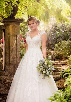 Essense of Australia D2347 A-Line Wedding Dress