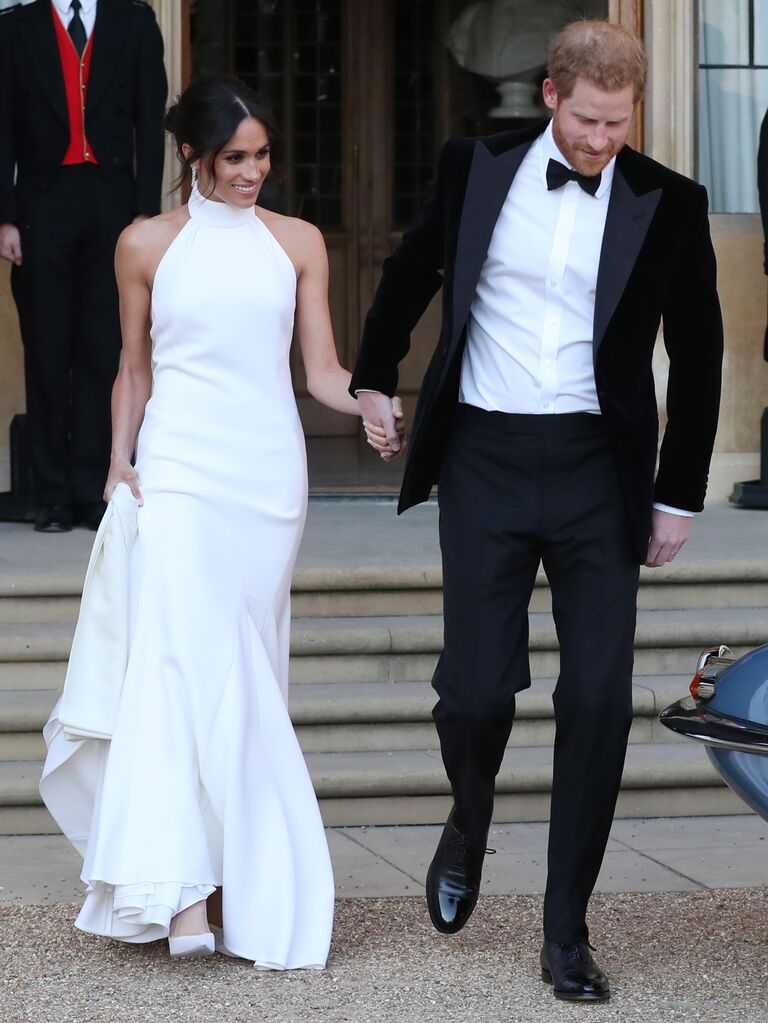 meghan markle wedding dress details about her two gowns meghan markle wedding dress details