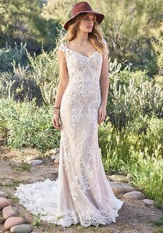 Lillian West 6506 Mermaid Wedding Dress
