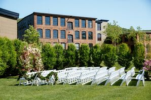 Roundhouse Garden Wedding Ceremony