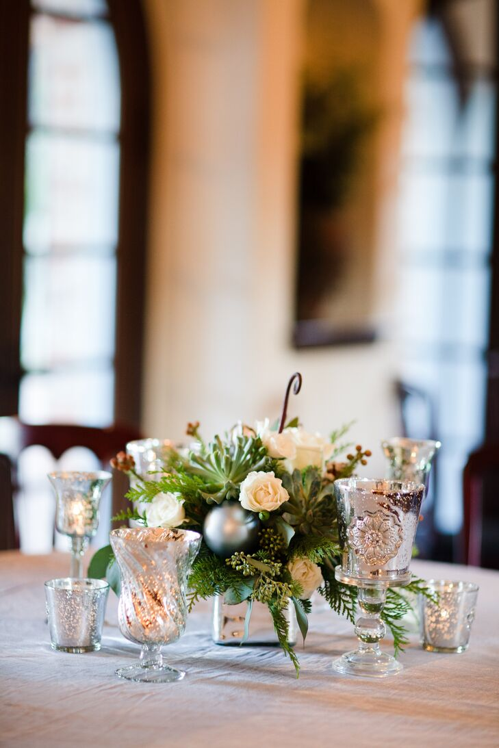 Winter Centerpiece Decor