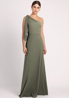 Jenny Yoo Collection (Maids) Rae One Shoulder Bridesmaid Dress