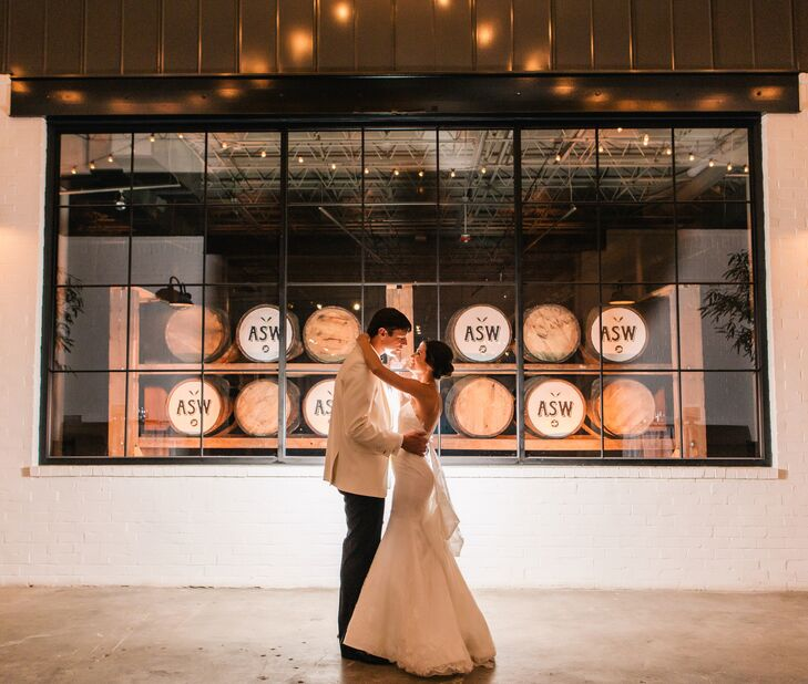 A Classic Yet Industrial Wedding At American Spirit Works In