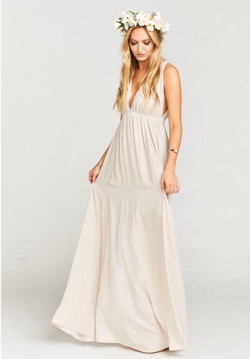 4b7757c1601 Show Me Your Mumu Ava Maxi Dress - Show Me the Ring Crisp Bridesmaid ...