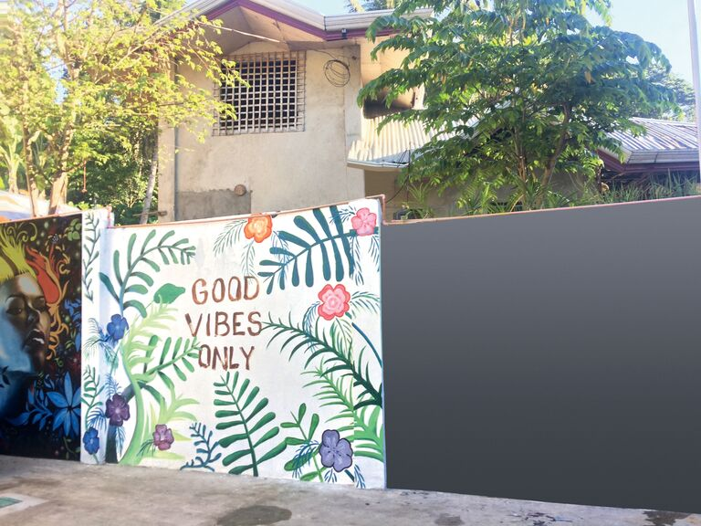 Wall art in the Philippines