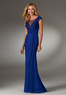 MGNY 71509 Blue Mother Of The Bride Dress