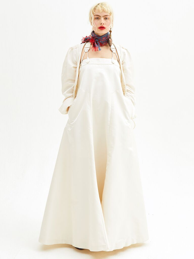 Vivienne Westwood Fall 2018 Collection: Bridal Fashion Week Photos