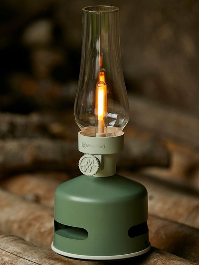 Speaker camping lantern gift for father-in-law