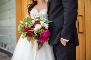 Peony and Rose Oversize Bouquet