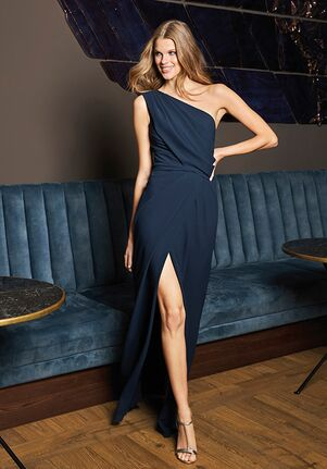 THE PARTY EDIT TD STYLE 140 Off the Shoulder Bridesmaid Dress