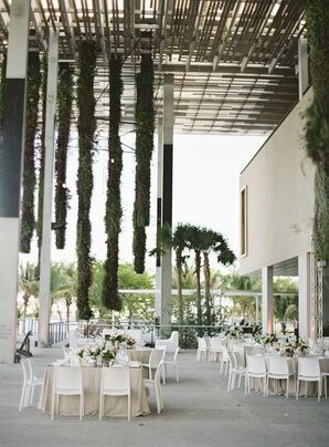 An Elegant Outdoor Wedding at Perez Art Museum Miami